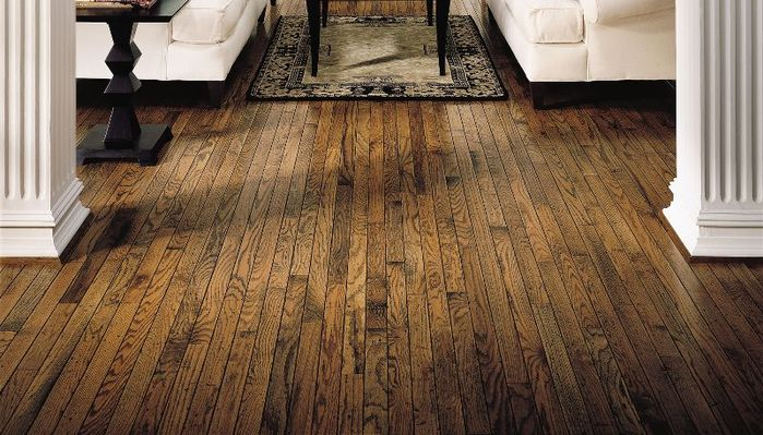 Oak Hardwood By Bruce Spice Color 17177